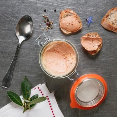 Conserve de foie gras de canard - 140g