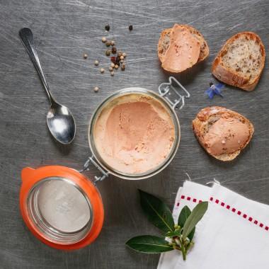 Conserve de foie gras de canard - 350g