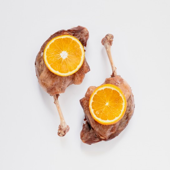 Cuisses de canard à l'orange par 2 - 680g