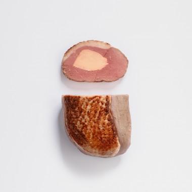 Magret cuit fourré au foie gras - 300g