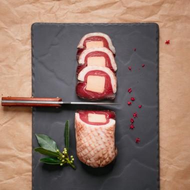 Magret séché fourré au foie gras - 240g