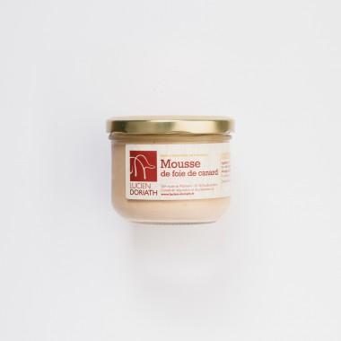 Conserve de mousse de foie de canard- 180g