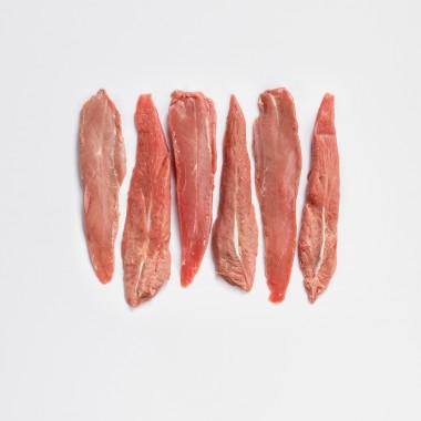 Aiguillettes de canard par 6 - 300g