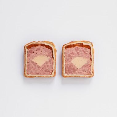 Pastete mit Entenleber-Mousse im Teigmantel - 320g