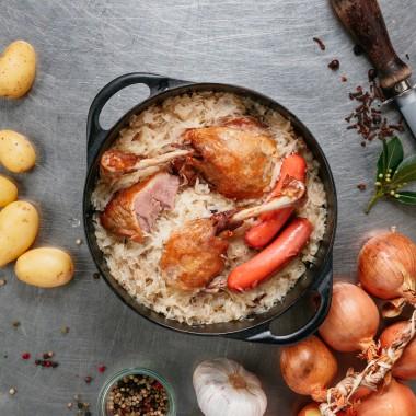 Choucroute de canard 1 personne - 540g
