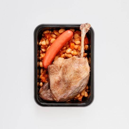 Cassoulet de canard 1 personne - 540g