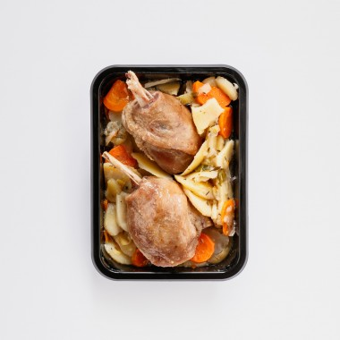 Baeckeoffe de canard 1 personne - 540g