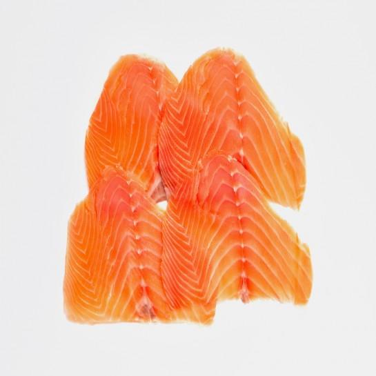 Saumon fumé d'Écosse prétranché label rouge 4 tranches - 220g