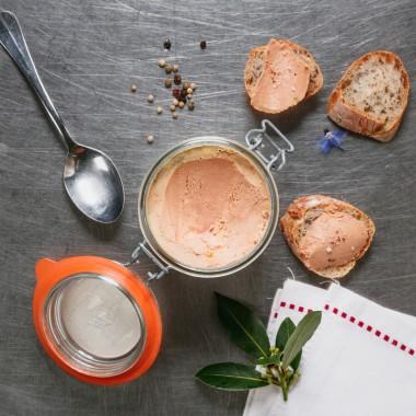 Conserve de foie gras d'oie - 200g
