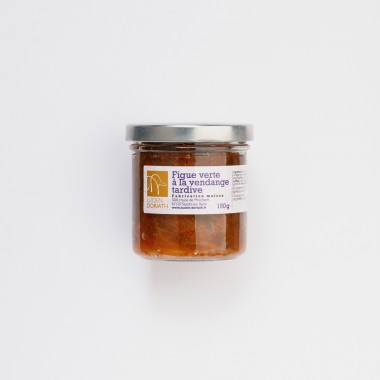 Chutney de figue au Gewurztraminer Vendanges Tardives - 150g