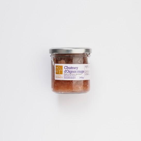 Chutney d'oignon rouge - 140g