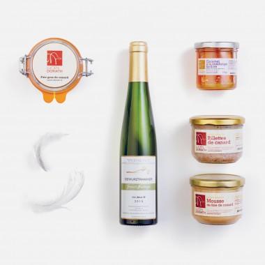 Le coffret Saveurs d'Alsace