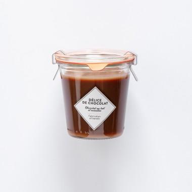 Délice de Chocolat - Chocolat au Lait et Noisettes - 125g