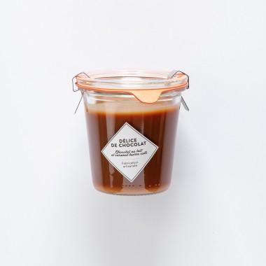 Délice de Chocolat - Chocolat au Lait et Caramel beurre salé