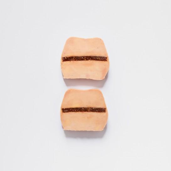 Foie gras de canard à la figue 2 tranches - 120g