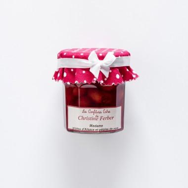 Christine Ferber Confiture extra Madame Griotte d'Alsace et Pétales de Roses