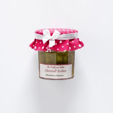 Christine Ferber Confiture extra Rhubarbe d'Alsace