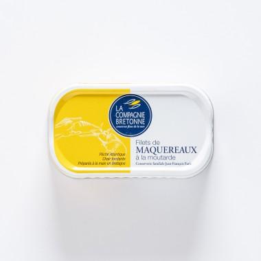 La Compagnie Bretonne du Poisson Rillettes de Maquereaux à la Moutarde