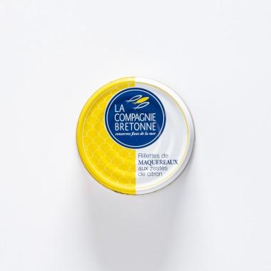La Compagnie Bretonne du Poisson Rillettes de Maquereaux aux Zeste de Citron - 90g