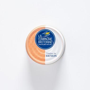 La Compagnie Bretonne du Poisson Rillettes de Saumon - 78g