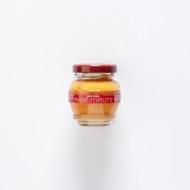 Domaine des Terres Rouges Moutarde Piment d'Espelette - 55g