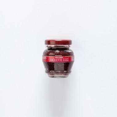 Domaine des Terres Rouges Moutarde Violette au moût de Raisin - 55g