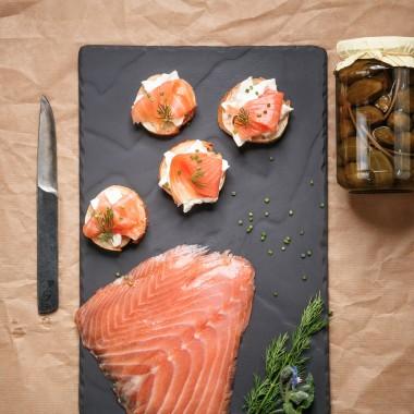 Saumon sauvage rouge d'Alaska prétranché 4 tranches - 220g