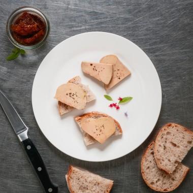 Lobe de foie gras de canard entier poché - 280g