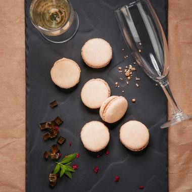 Macarons au foie gras par 6 - 100g
