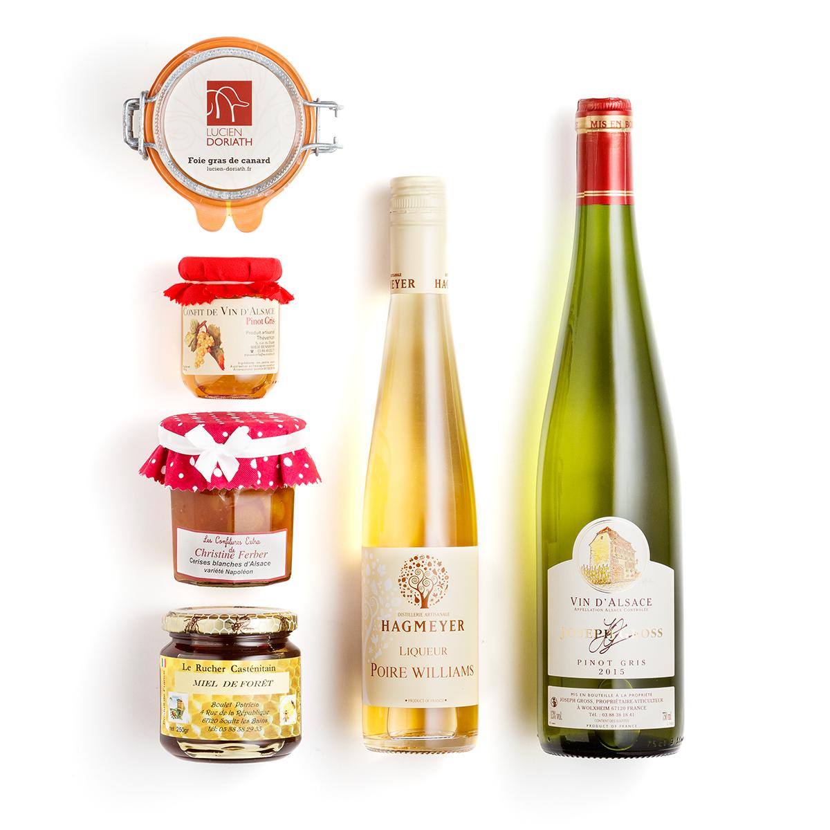 Les coffrets cadeaux foie gras
