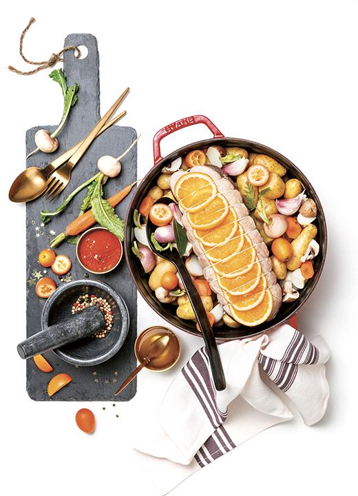 Spécialités à base de canard, charcuterie et plats cuisinés