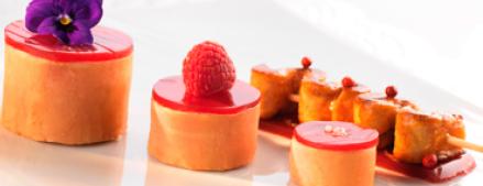 Recette Déclinaison de foie gras et fraises