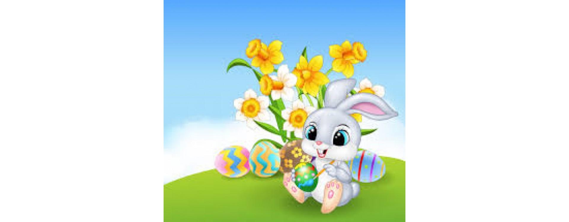 Menu de Pâques à emporter les 3, 4 et 5 avril 2021