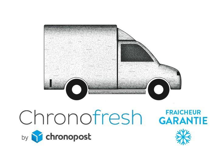 Une livraison partout en France, en 24H et en température dirigée !