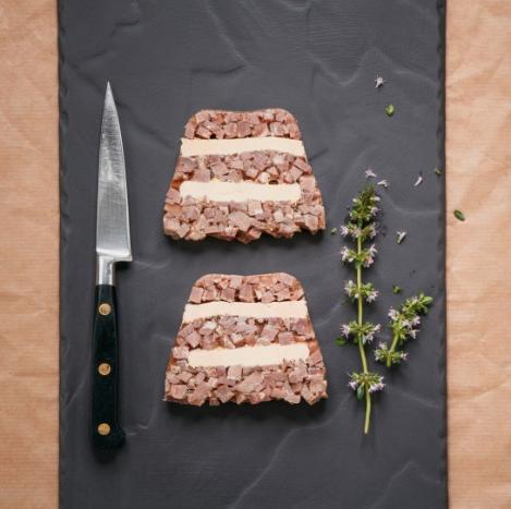 Recette de Mille feuille de canard au foie gras