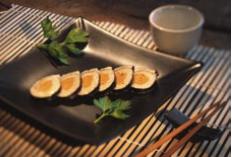 Recette Sushis au foie gras